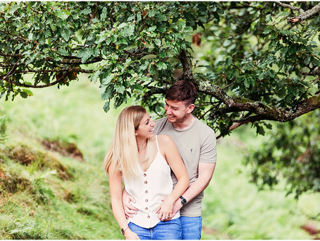 RACHAEL & DAN'S LAKESIDE PRE WEDDING SHOOT | ULLSWATER, LAKE DISTRICT