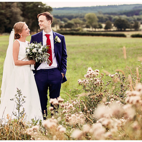 HELENE & ALEX'S NATURALLY ELEGANT WEDDING AT HEALEY BARN | NORTHUMBERLAND