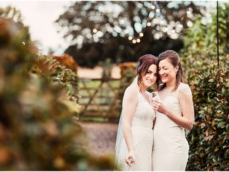 LIANE & REBECCA'S RUSTIC AND RELAXED BARN WEDDING AT ASKHAM HALL | CUMBRIA