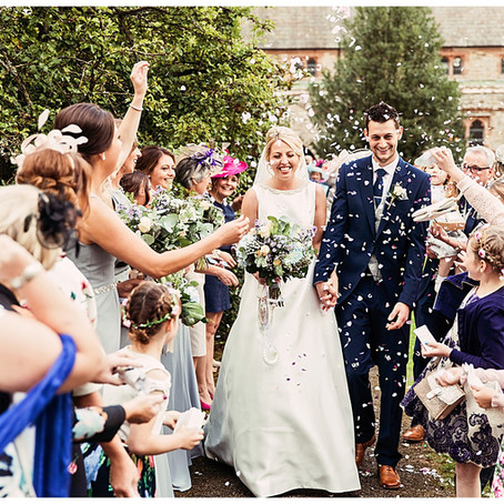 SARAH & TOM'S GORGEOUSLY  ELEGANT FARM WEDDING | MARQUEE IN CUMBRIA