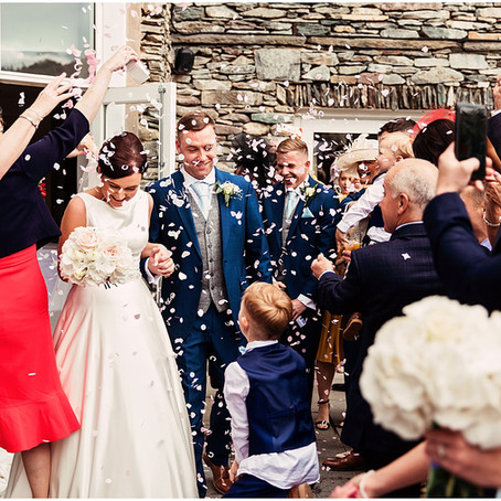 JODIE & STEPHEN'S ELEGANT LAKESIDE WEDDING AT THE DAFFODIL HOTEL | GRASMERE, LAKE DISTRICT