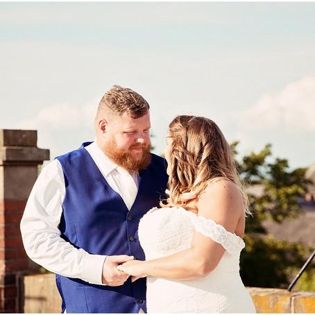 ADRIAN & STEPHANIE'S UK WEDDING RECEPTION | THE HALSTON, CARLISLE
