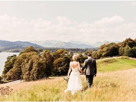 REBECCA & STEVIE'S DREAMY LAKE DISTRICT WEDDING AT LOW WOOD BAY | CUMBRIA