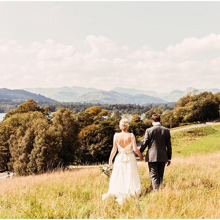 REBECCA & STEVIE'S DREAMY LAKE DISTRICT WEDDING AT LOW WOOD BAY   CUMBRIA