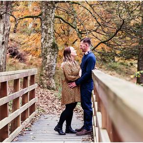 GEORGINA & ANDREW'S AUTUMNAL LAKESIDE PRE WEDDING SHOOT   ULLSWATER, GLENRIDDING