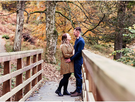GEORGINA & ANDREW'S AUTUMNAL LAKESIDE PRE WEDDING SHOOT | ULLSWATER, GLENRIDDING