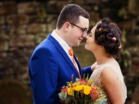 HANNAH & JACK'S AUTUMNAL WEDDING AT THE TITHE BARN | CUMBRIAN WEDDING PHOTOGRAPHER