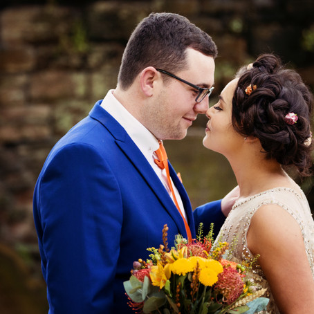 HANNAH & JACK'S AUTUMNAL WEDDING AT THE TITHE BARN | CUMBRIAN WEDDING PHOTOGRAPHER