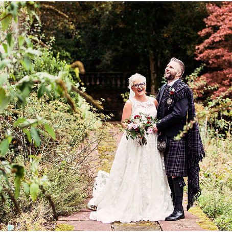 NAOMI & COLIN'S ELEGANT AND SOPHISTICATED SCOTTISH WEDDING AT SPRINGKELL HOUSE | SCOTLAND