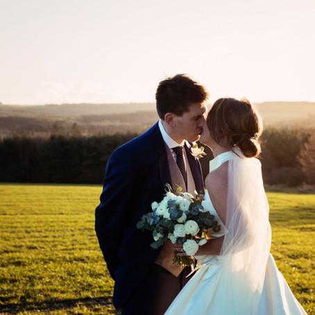 KATIE & TONY'S WINTER WEDDING AT HEALEY BARN   NORTHUMBERLAND WEDDING PHOTOGRAPHER