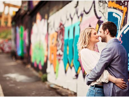 REBECCA & STEVIE'S QUAYSIDE PRE WEDDING SHOOT   NEWCASTLE