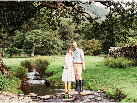 SARAH & ANTHONY'S LAKE SIDE WEDDING AT  ST BEGA'S CHURCH | BASSENTHWAITE, THE LAKE DISTRICT