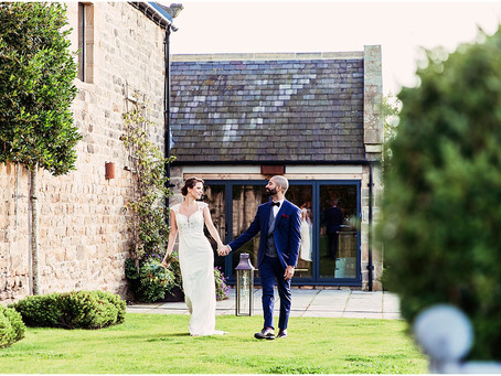 SHIRLEY & PEDRO'S ROMANTIC AND ELEGANT BARN WEDDING AT HEALEY BARN | NORTHUMBERLAND