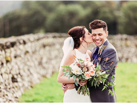 LAURA & GRAHAM'S INTIMATE FLORAL MARQUEE WEDDING IN THE LAKE DISTRICT | CUMBRIA