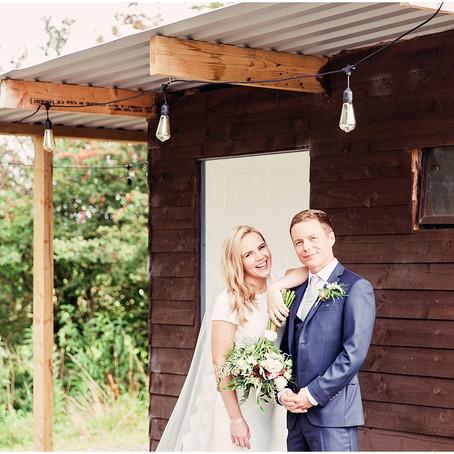 BEN & AIMEE'S MAGICALLY TWINKLY BARN WEDDING | THREE HILLS BARN | NORTH WEST WEDDING