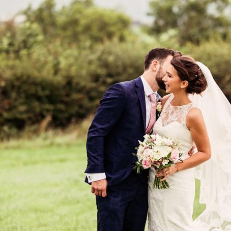 EMMA & TOM'S NEUTRAL AND NATURAL BARN WEDDING AT EDEN BARN | CUMBRIA