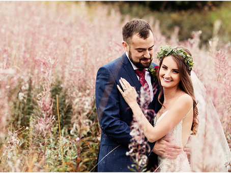 LOUISE & MARK'S VIBRANT FLORAL WEDDING AT THE HALSTON | CARLISLE