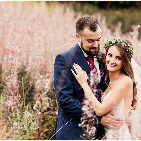 LOUISE & MARK'S VIBRANT FLORAL WEDDING AT THE HALSTON   CARLISLE