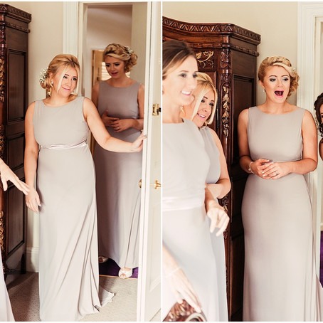 TUESDAY TIPS - THE BRIDAL PARTY FIRST LOOK