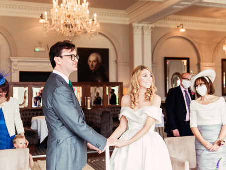 REBECCA & WILL'S STUNNINGLY STYLISH WEDDING FOR 15 GUESTS AT THE BELSFIELD | LAKE DISTRICT