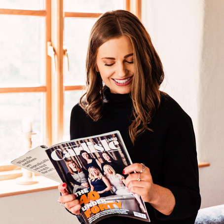 THE 40 UNDER FORTY - FEATURED IN CARLISLE LIVING