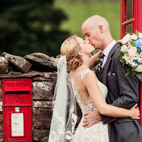 SOPHIE & CHRIS' RUSTIC AND RELAXED COUNTRYSIDE BARN WEDDING AT KNIPE HALL | CUMBRIA