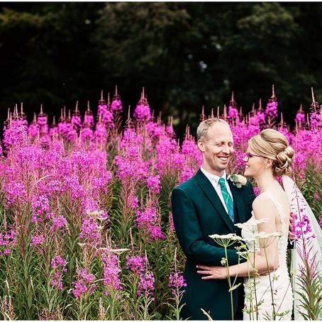 LAURA & SEAN'S LAID BACK LAKE SIDE WEDDING AT ARMATHWAITE HALL | CUMBRIA