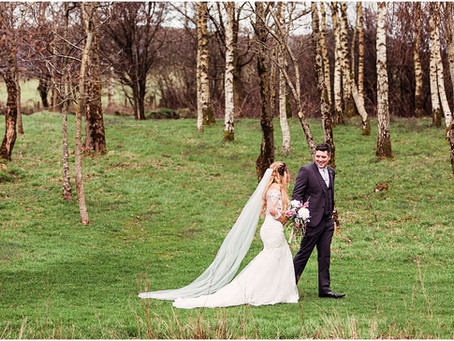 EMMA & LUKE'S WONDERFULLY WINTERY BARN WEDDING AT NEW HOUSE FARM | LAKE DISTRICT