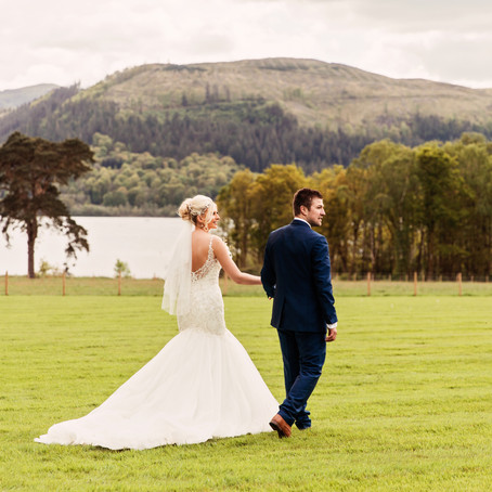 AMY & NICK'S RELAXED LAKE DISTRICT WEDDING AT ARMATHWAITE HALL   CUMBRIA