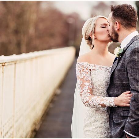 JENNIE & DAN'S FESTIVE WINTER WEDDING   THE CROWN HOTEL, CUMBRIA