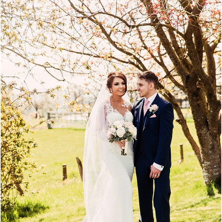 ALEX & SCOTT'S COUNTRY HOUSE WEDDING AT THE ROUNDTHORN