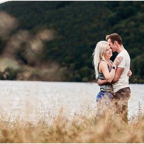 KATIE & BRANDON'S LAKE DISTRICT PRE WEDDING SHOOT   ULLSWATER