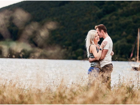 KATIE & BRANDON'S LAKE DISTRICT PRE WEDDING SHOOT | ULLSWATER