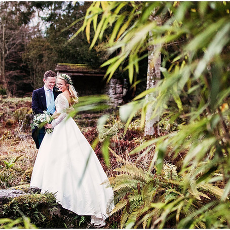 BRONTE & MARK'S BOTANICAL WINTER WEDDING AT LOWTHER CASTLE | CUMBRIA