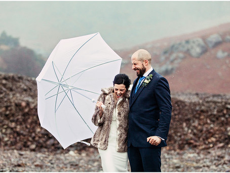 KRISTINA & JIM'S WINTERY MOUNTAIN WEDDING AT THE COPPERMINES COTTAGES | CONISTON, LAKE DISTRICT
