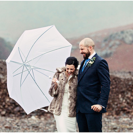 KRISTINA & JIM'S WINTERY MOUNTAIN WEDDING AT THE COPPERMINES COTTAGES   CONISTON, LAKE DISTRICT