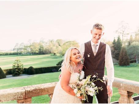 SHANNON & LUKE'S STUNNING NORTHUMBERLAND WEDDING AT KIRKLEY HALL