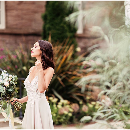 PURSUIT OF PRETTY WITH BELLE BRIDAL MAGAZINE | NEWTON HALL