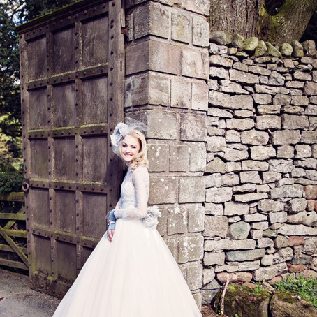 SPRING BRIDAL COUTURE AT ASKHAM HALL | BRIDAL FASHION PHOTOGRAPHER