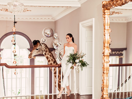 WELCOME TO WONDERLAND | CHARLTON HALL STYLISED SHOOT FOR BELLE BRIDAL MAGAZINE
