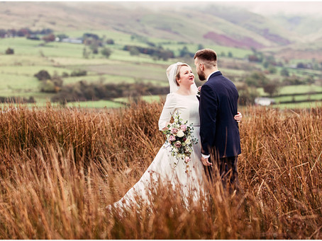 RACHEL & MIKE'S GORGEOUS COUNTRYSIDE BARN WEDDING AT THREE HILLS BARN | CUMBRIA