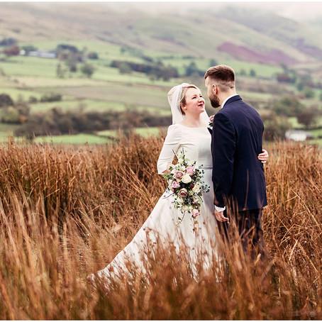 RACHEL & MIKE'S GORGEOUS COUNTRYSIDE BARN WEDDING AT THREE HILLS BARN | CUMBRIA