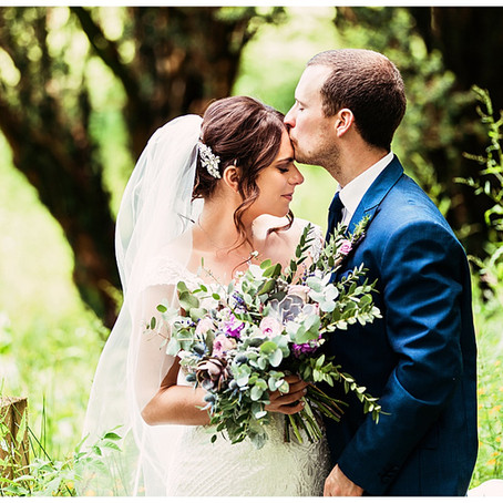 NATASHA & BOBBY'S BEAUTIFUL SUMMERS WEDDING AT IRTON HALL | CUMBRIA