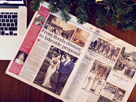 FEATURED IN CUMBRIAN WEDDINGS | NORTH WEST WEDDING PHOTOGRAPHER