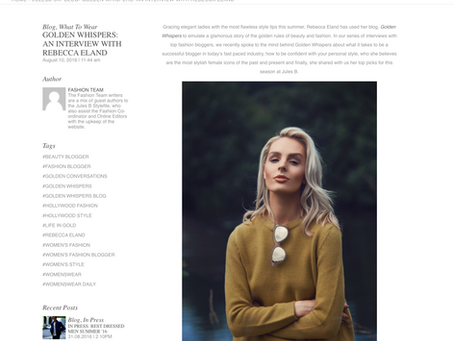 FEATURED ON JULES B ONLINE - STYLE FILE | UK FASHION PHOTOGRAPHER