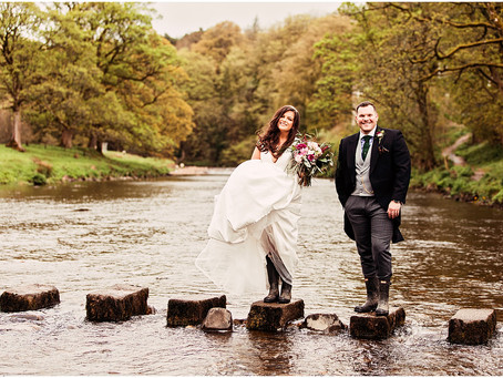 OLIVIA & SIMON'S BREATHTAKING COUNTRY WEDDING AT THE INN AT WHITEWELL | LANCASHIRE