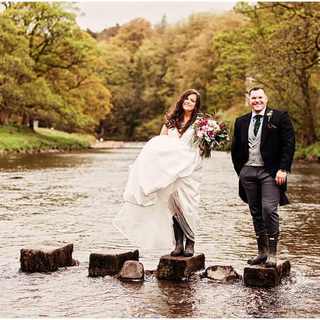 OLIVIA & SIMON'S BREATHTAKING COUNTRY WEDDING AT THE INN AT WHITEWELL   LANCASHIRE