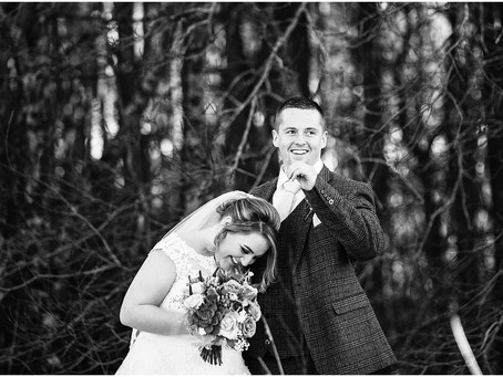 ASHTON & SCOTT'S STUNNINGLY SUNNY WINTER WEDDING| WHITEHAVEN GOLF CLUB, CUMBRIA