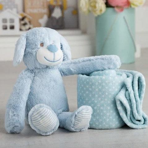 Плед с игрушкой Крошка Я «Дружок» 75×100 см