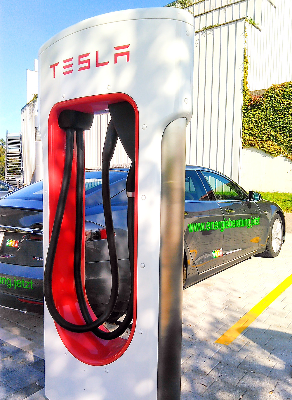 Elektrofahrzeug reduziert Emissionen